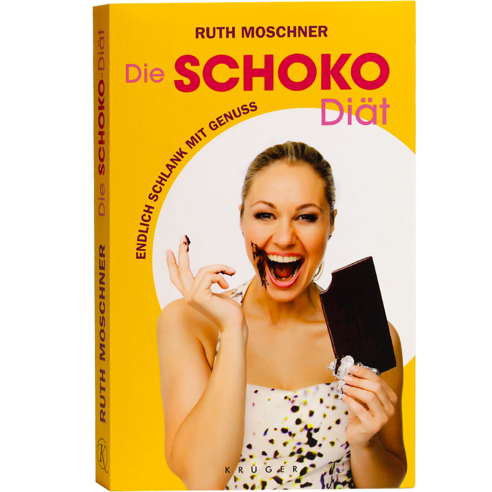 Schokoladenbuch, Diätbuch, Ruth Moschner, Schokolade -  - Chocolats-De-Luxe