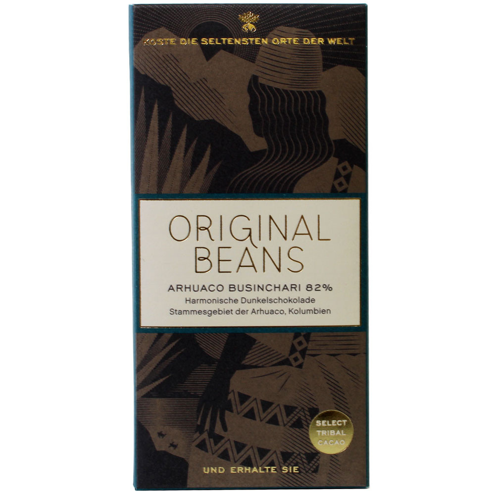 82% Arhuaco Businchari BIO Zartbitterschokolade