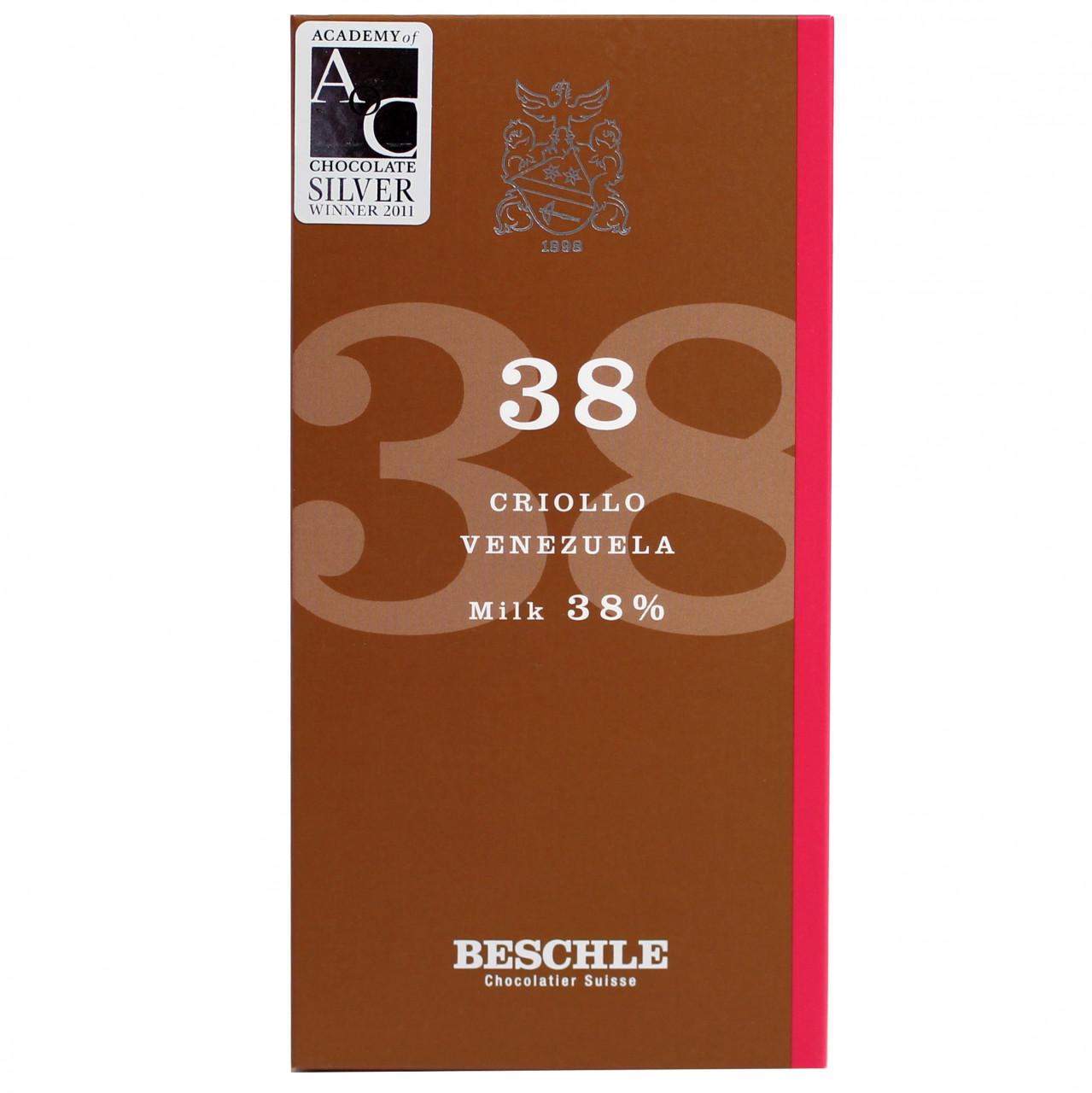 Beschle, Schweizer Schokolade, Grand Cru, Milchschokolade, milk chocolate, chocolat au lait                                                                                                              -  - Chocolats-De-Luxe