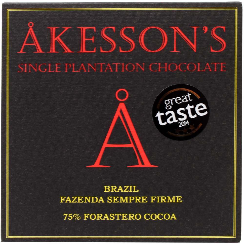 75% Brazil Forastero Cocoa Chocolate